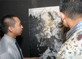 A painting at Pesta Convo