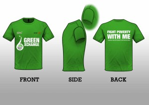 Introducing Our Green Xchange 6 Official T's