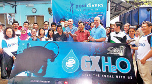 Coral restoration programme launched