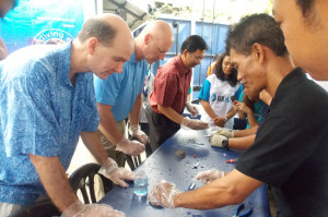 SCOT lancar projek bersih dasar laut
