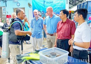 Coral Repair Project Launched