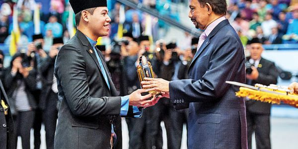 His Majesty presents SCOT with Youth Association Award 2015
