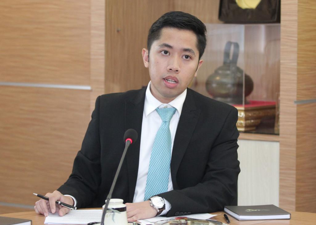 UCAPAN alu-aluan dari Pengerusi SCOT, Awang Anuwar Mohammad.